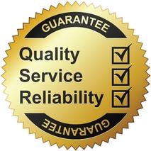 Garantiert: Qualität - Service - Zuverlässigkeit